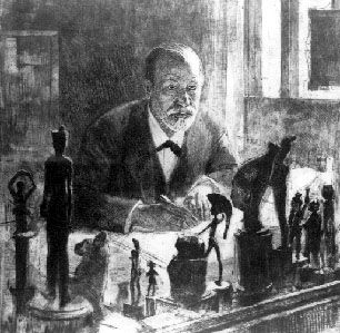 Pollack, Freud in his study